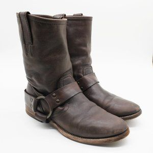 Frye Harness Leather Boots.